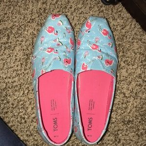 TOMS flamingo popsicle watermelon 10